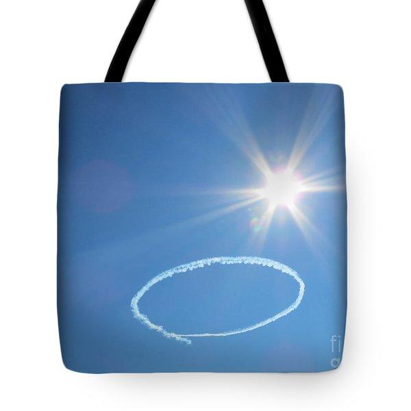 O Is For Oshkosh. Under The Sun. Tote Bag by Ausra Huntington nee Paulauskaite