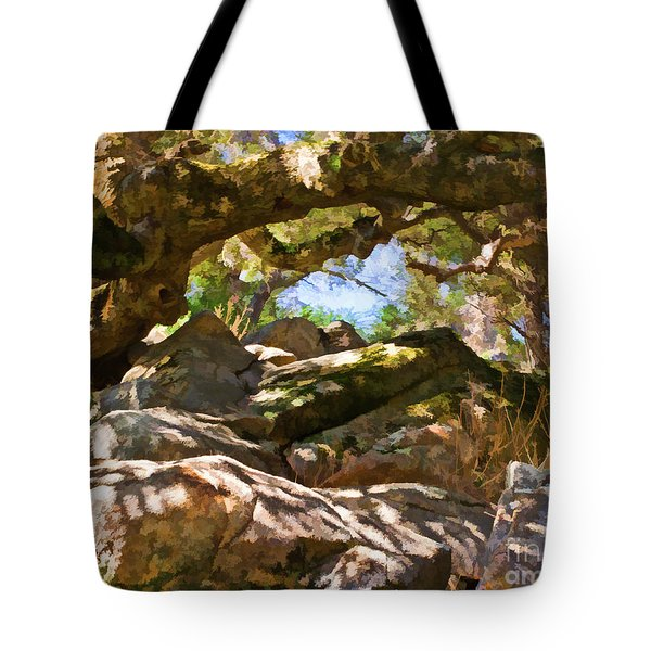 Oak Canopy Tote Bag