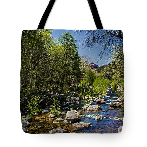 Oak Creek Tote Bag by Robert Bales