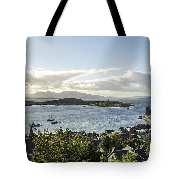 Oban Bay View Tote Bag