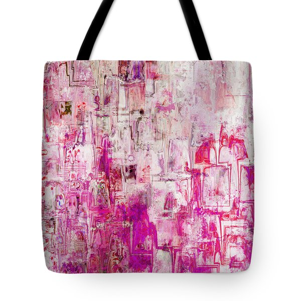 Oblong Abstract I Tote Bag by Debbie Portwood