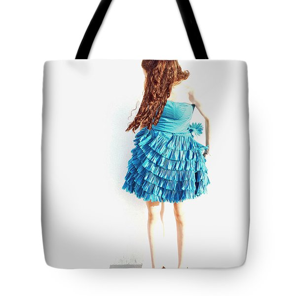 Obscured Tote Bag by Lisa Phillips