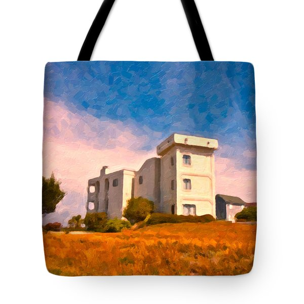 Observation Tower 1 Tote Bag by Betsy Knapp