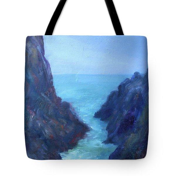 Ocean Chasm Tote Bag