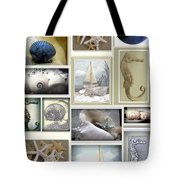Ocean Whispers Tote Bag by Danielle  Parent