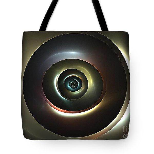 Ocular Lens Tote Bag by Kim Sy Ok