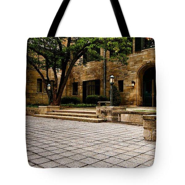 Off Set Tote Bag by Rachel Cohen