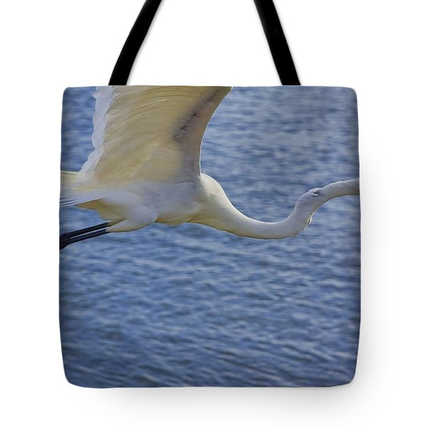 Off To The Nest Tote Bag by Deborah Benoit