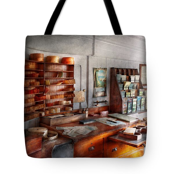 Office - The Purser's Room Tote Bag by Mike Savad