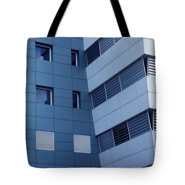 Office Building Tote Bag by Carlos Caetano