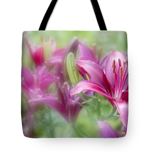 Oh So Pink Tote Bag by Toni Hopper