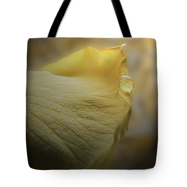Tote Bag featuring the photograph Oh So Soft Is The Kiss Of Dew by Debbie Portwood