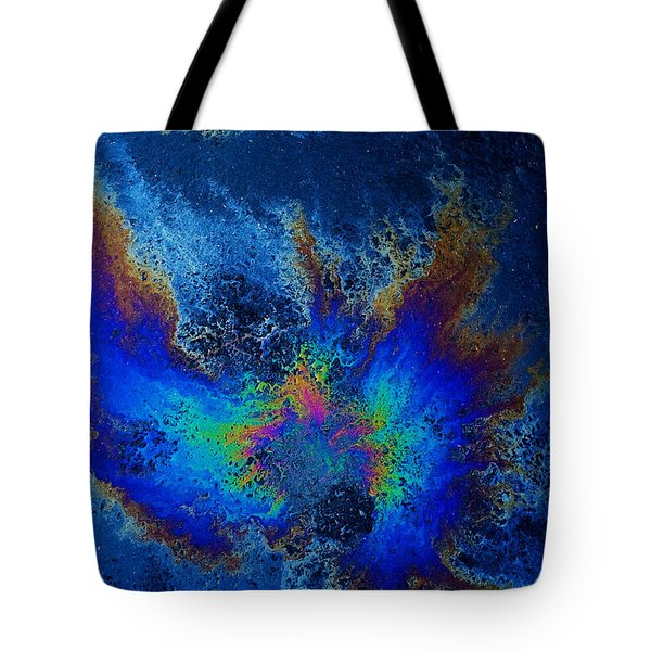 Oil On Pavement Find Your Wings Tote Bag