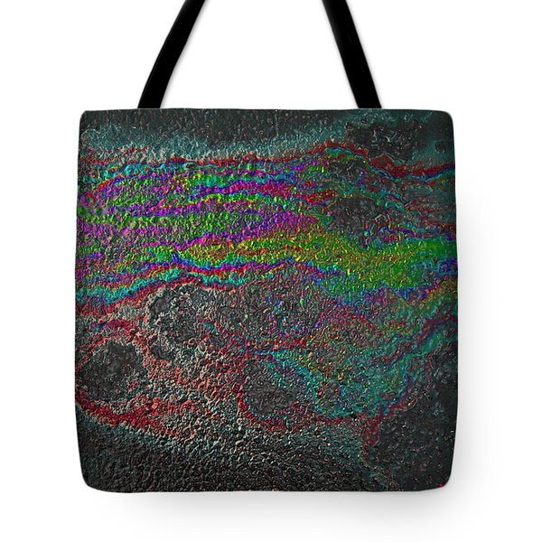 Oil On Pavement Summoning Spirit Tote Bag