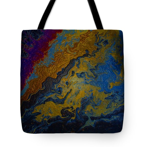 Oil On Pavement True Colors Tote Bag