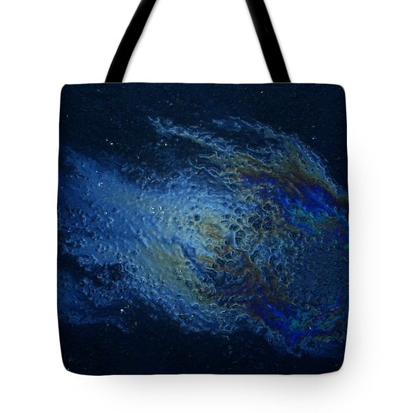 Oil On Pavement Wishcraft Tote Bag