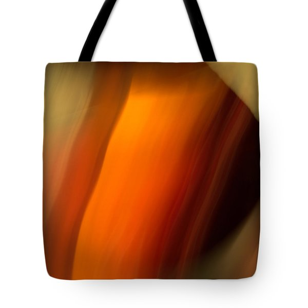 Tote Bag featuring the mixed media O'keefe I by Terence Morrissey