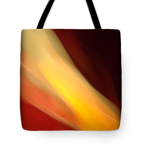 Tote Bag featuring the mixed media O'keefe Iv by Terence Morrissey