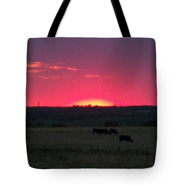 Okie Sunset Tote Bag