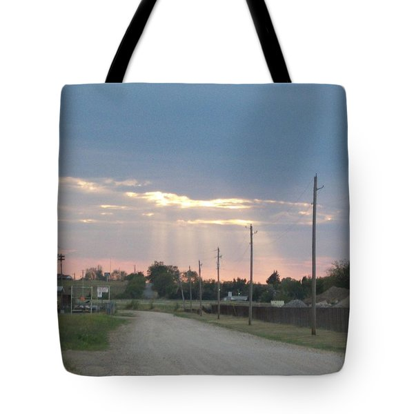 Oklahoma Beamer Tote Bag by Adam Cornelison