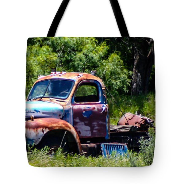 Ol' Mack  Tote Bag by Toma Caul