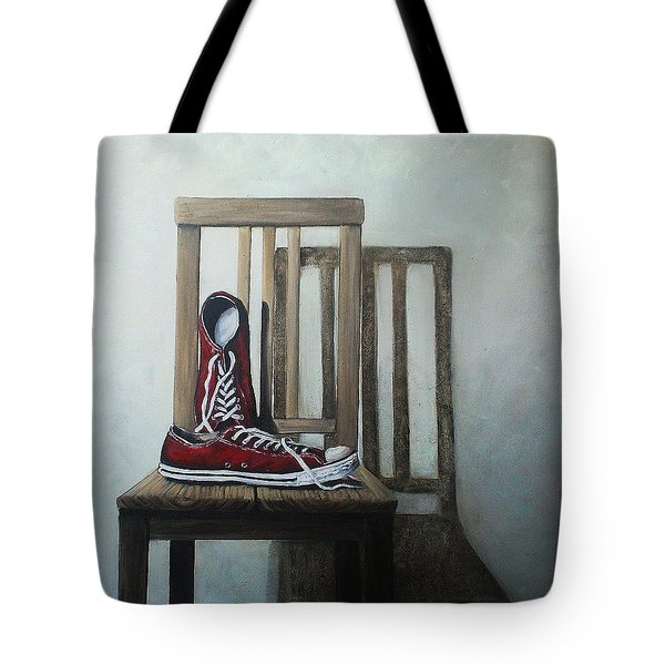 Old All Stars Tote Bag by Natalia Tejera