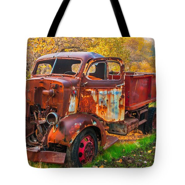 Old And Broken Tote Bag by Marc Crumpler