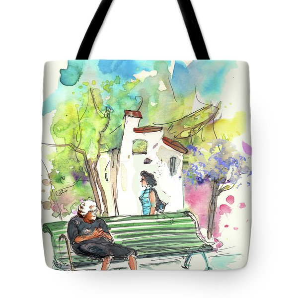 Old And Lonely In Portugal 04 Tote Bag by Miki De Goodaboom