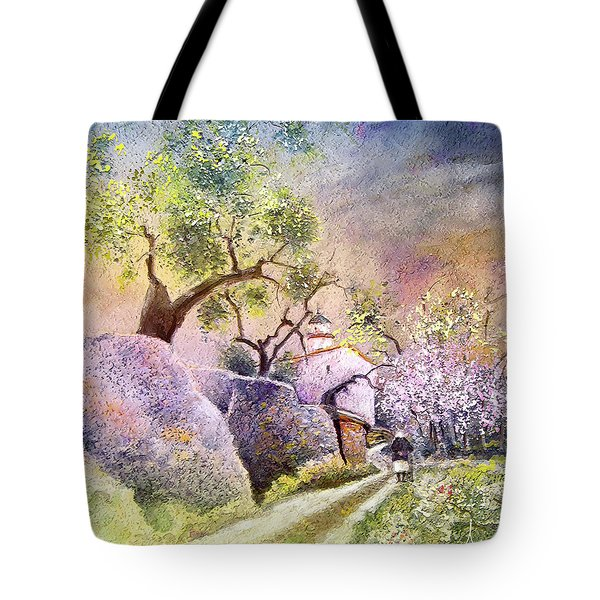 Old And Lonely In Spain 06 Tote Bag by Miki De Goodaboom