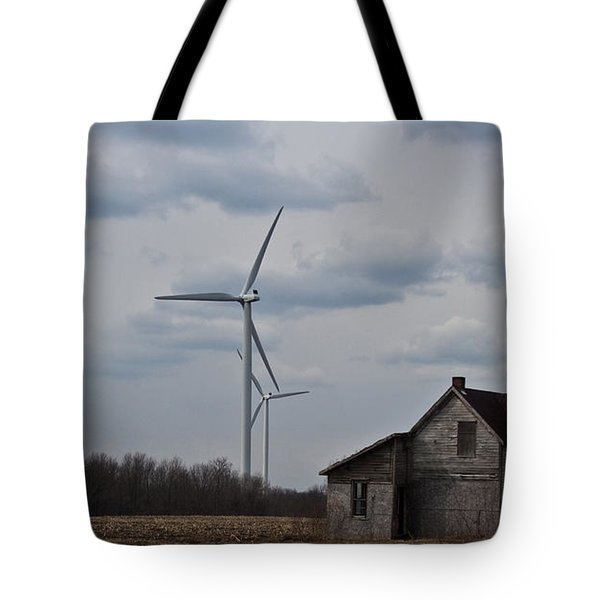 Tote Bag featuring the photograph Old And New by Barbara McMahon