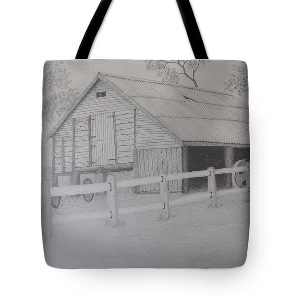 Old Austane Barn Tote Bag by Brian Leverton