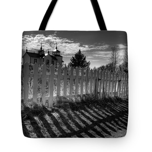 Old Beliefs And Shadows Tote Bag