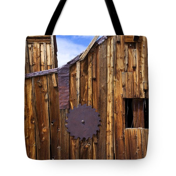 Old Building Bodie Ghost Town Tote Bag