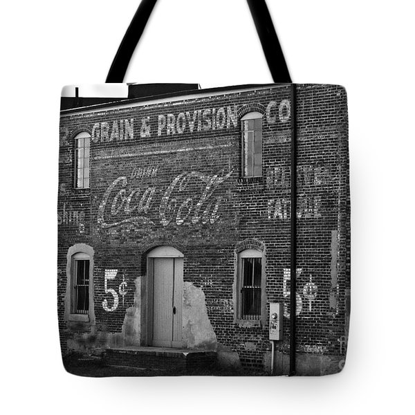 Old Building In Salisbury Nc Tote Bag