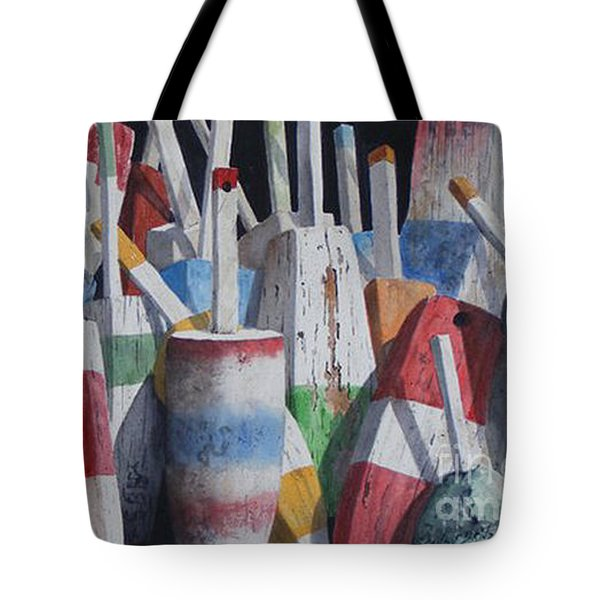Old Buoy Hangout  Sold Printa Available Tote Bag