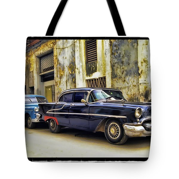Old Car 1 Tote Bag by Mauro Celotti