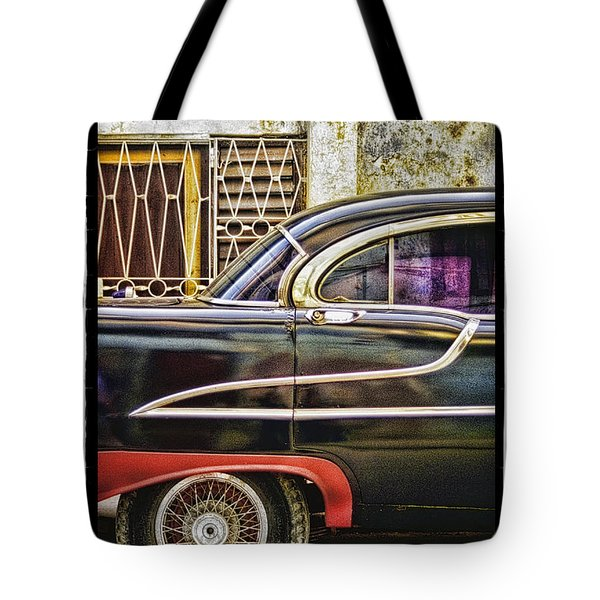 Old Car 2 Tote Bag by Mauro Celotti