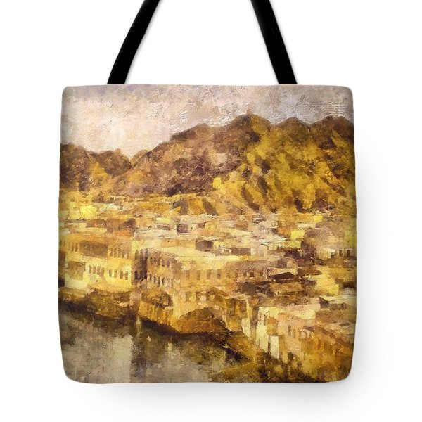 Old City Of Muscat Tote Bag