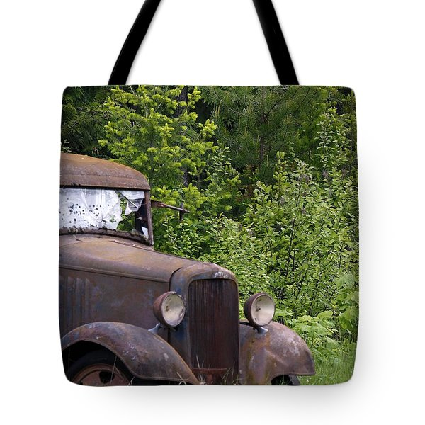 Tote Bag featuring the photograph Old Classic by Steve McKinzie