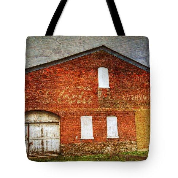 Old Coca Cola Building Tote Bag by Paul Ward