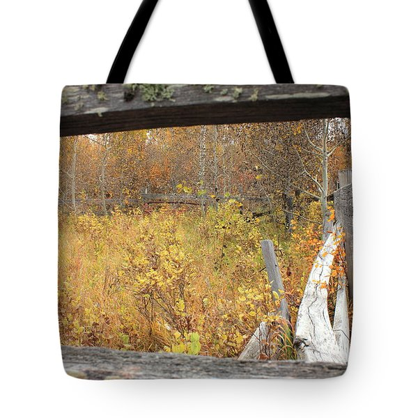 Old Corral Tote Bag by Jim Sauchyn