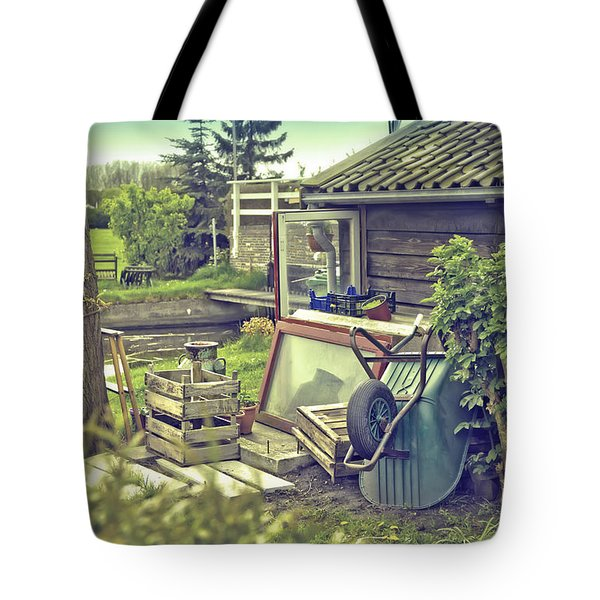 Old Country House Tote Bag