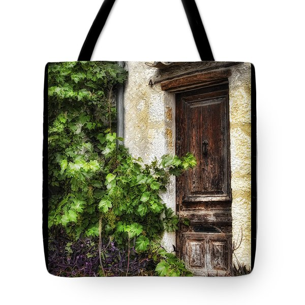 Old Door 2 Tote Bag by Mauro Celotti