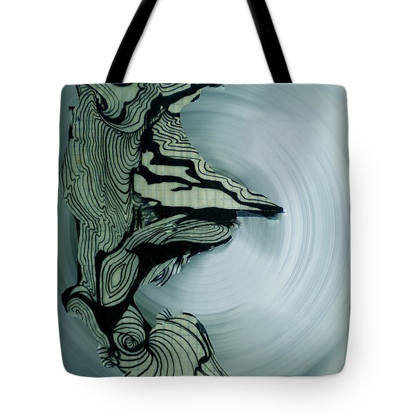 Old Drawing Called Serenity 2   Tote Bag by Colette V Hera  Guggenheim