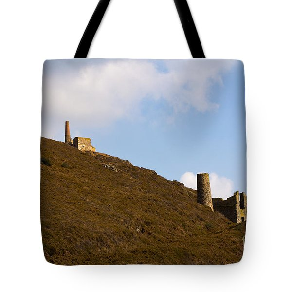 Old Engine House Tote Bag by Brian Roscorla