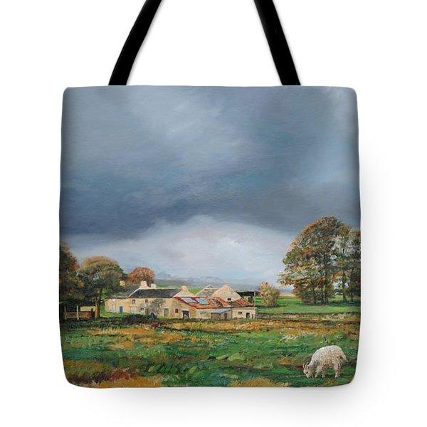 Old Farm - Monyash - Derbyshire Tote Bag by Trevor Neal