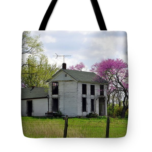 Old Farmstead Tote Bag by Marty Koch