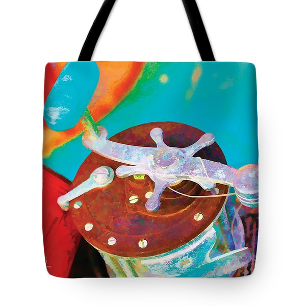 Old Fish Story Tote Bag