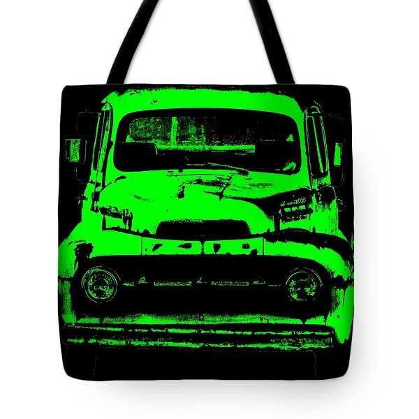 Old Ghost Tote Bag by Ed Smith