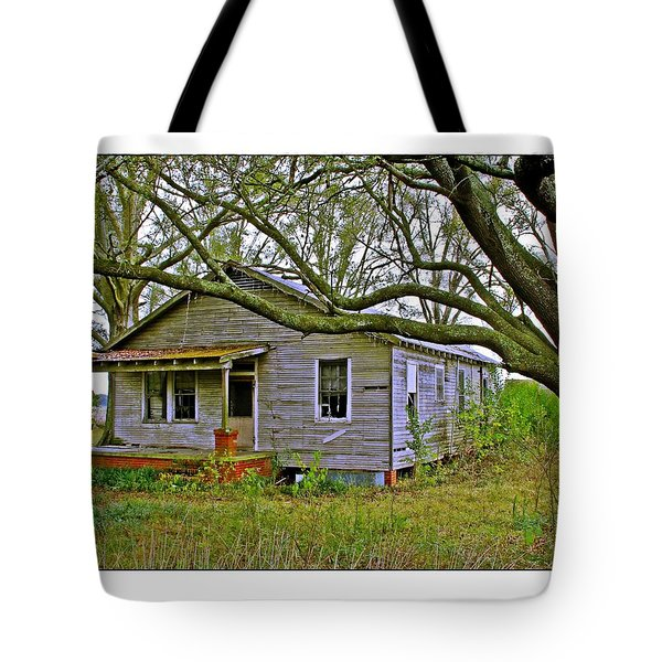 Old Gray House Tote Bag by Judi Bagwell